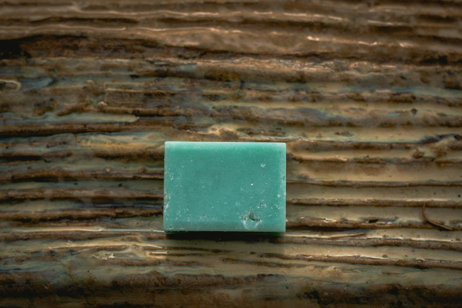 jabón exfoliante sal marina